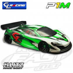Bolha Lexan P1M GL Racing 1/27 (WB98mm)