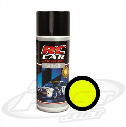 Tinta Spray RC CAR - Amarelo Fluor