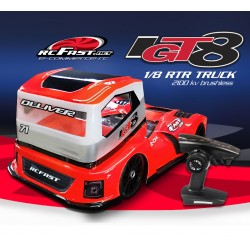 IGT8 Super Truck 1/8 Brushless RTR