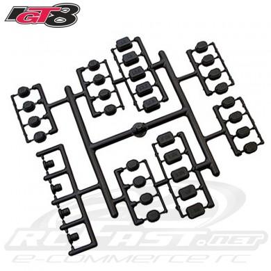 Fuselagem Vermelha Micro Heli Nine Eagles EC-135